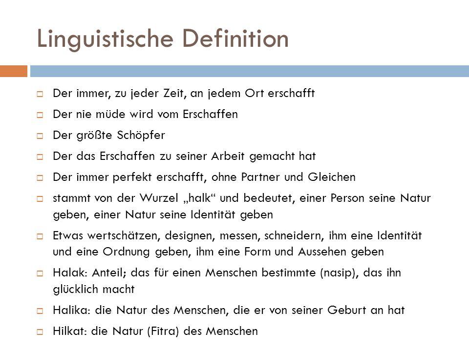 Linguistische Definition  Ahlak stammt auch aus diesem Wort und bedeutet prinzipientreue Handlungen, die am ausgewogensten sind, d.h.