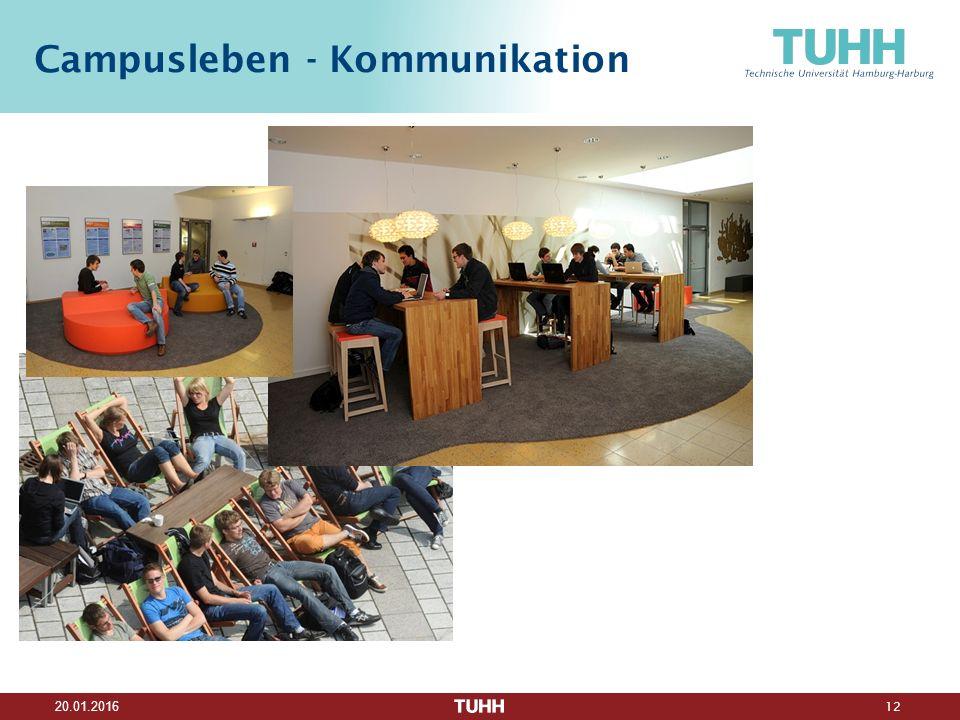 12 20.01.2016 Campusleben - Kommunikation