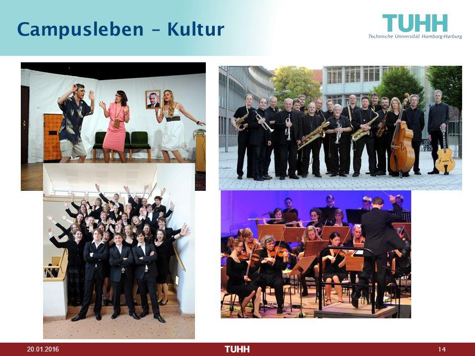 14 20.01.2016 Campusleben – Kultur