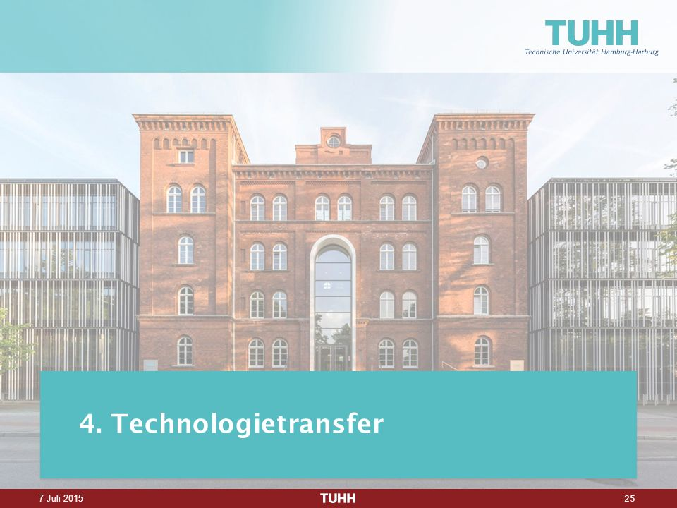 25 7 Juli Technologietransfer