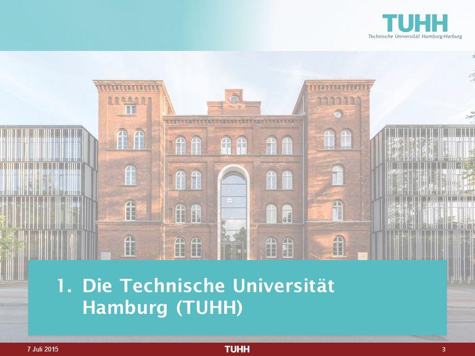 3 7 Juli 2015 1.Die Technische Universität Hamburg (TUHH)