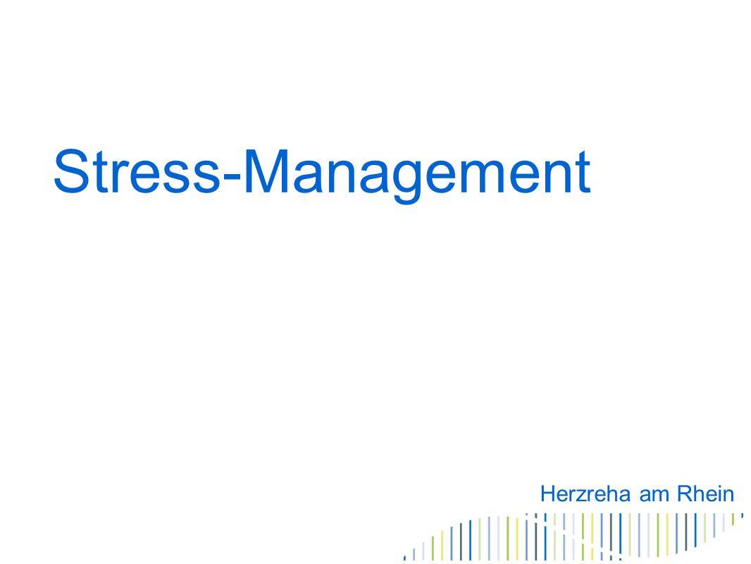 Stressmanagement Eigensinn Jeder muss selbst Grenzen seiner Kapazität setzen.