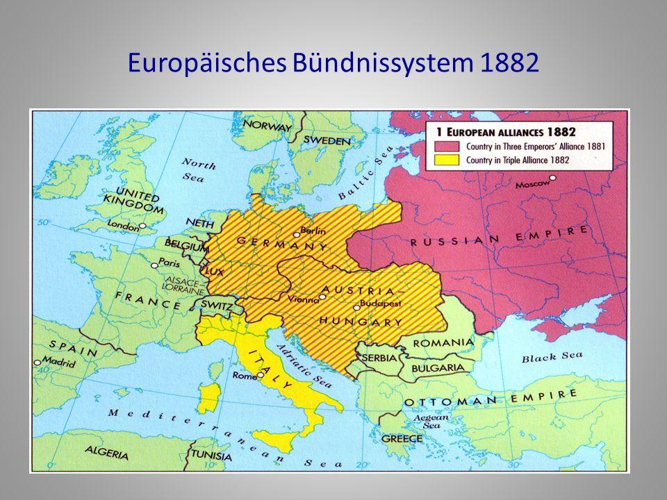 Europäisches Bündnissystem 1882