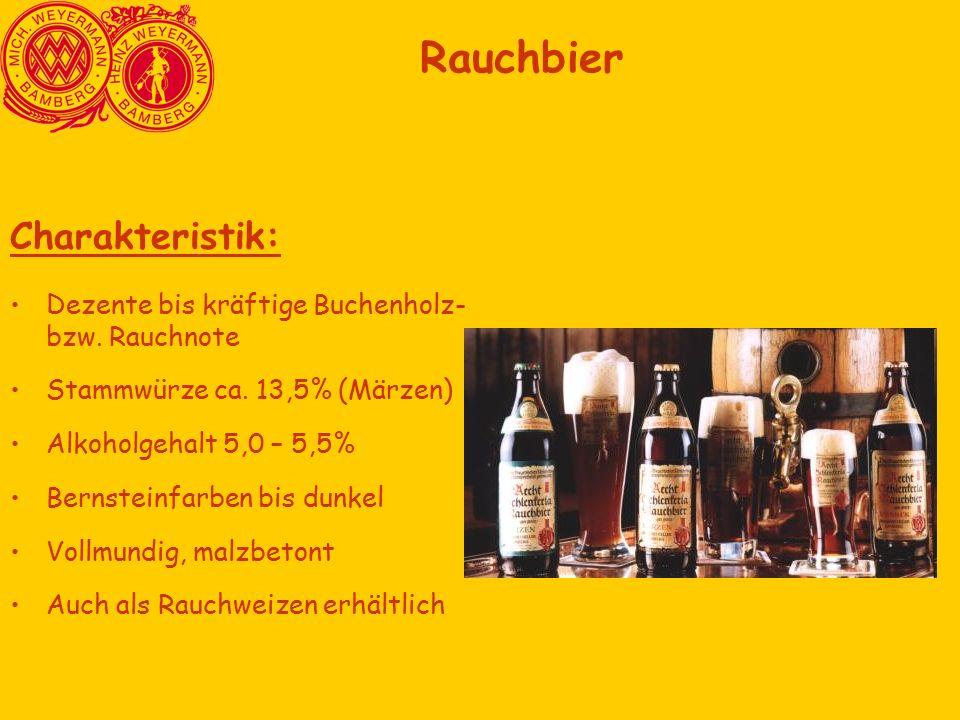 Charakteristik: Dezente bis kräftige Buchenholz- bzw.