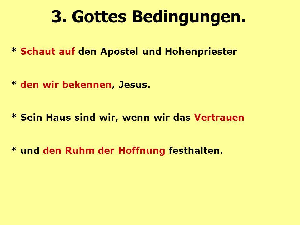* Schaut auf den Apostel und Hohenpriester * den wir bekennen, Jesus.