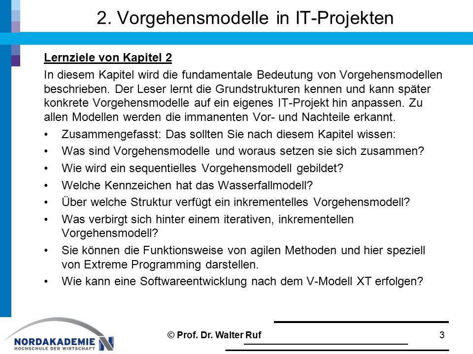 2.5.3 Die 12 Prinzipien des agilen Manifestes 1.Unsere höchste Priorität ist es, den Kunden durch frühe und kontinuierliche Auslieferung wertvoller Software zufrieden zu stellen.