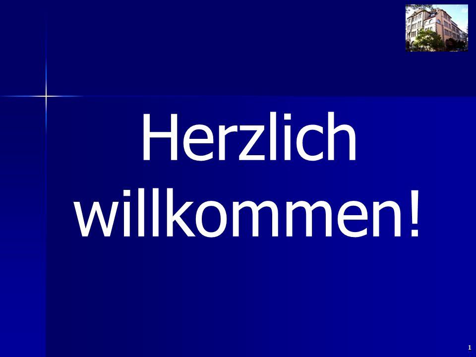 1 Herzlich willkommen!
