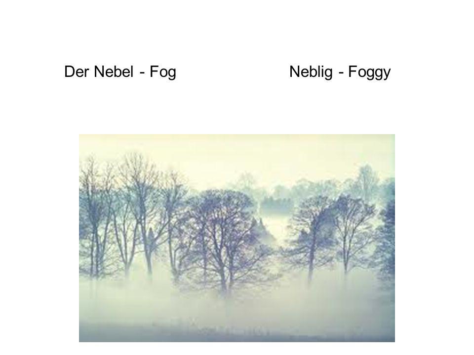 Der Nebel - FogNeblig - Foggy
