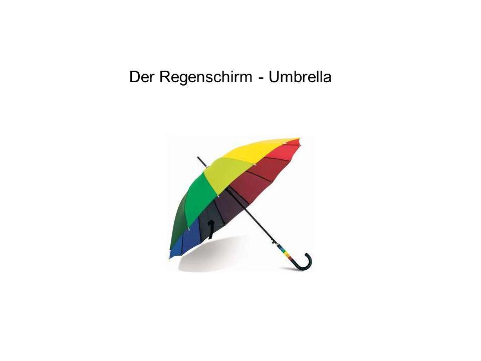 Der Regenschirm - Umbrella