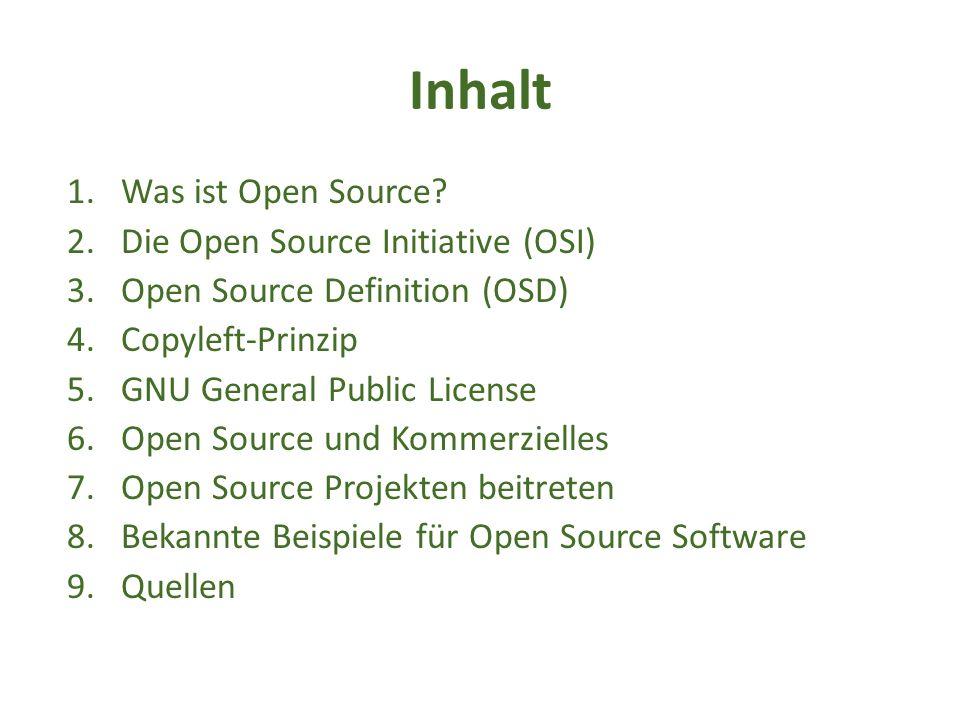 Was ist Open Source.