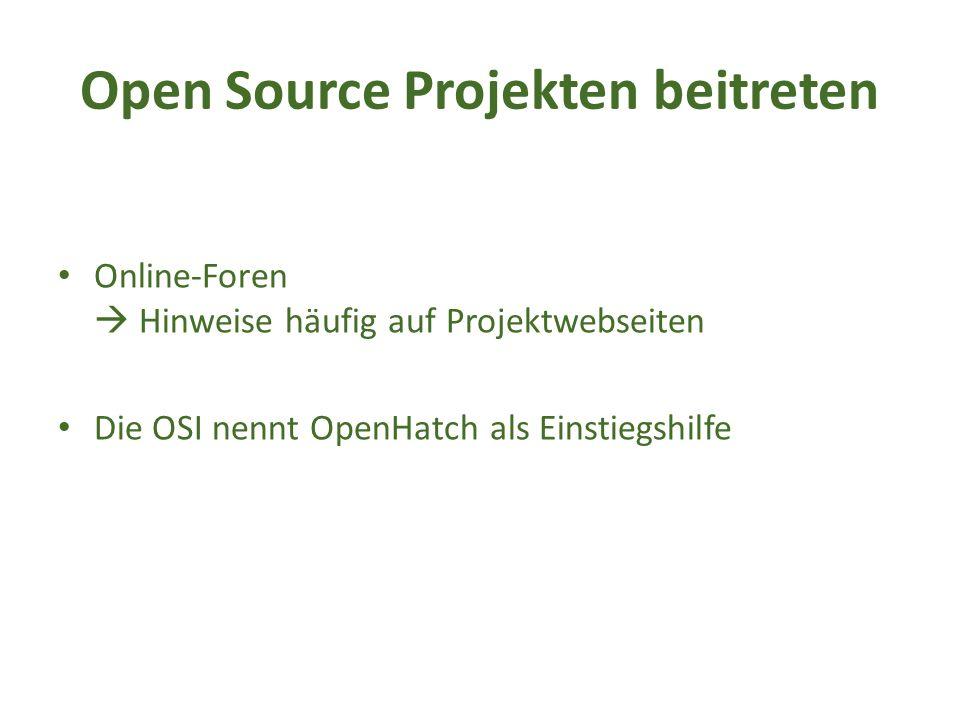 Bekannte Beispiele für Open Source Software Mozilla Firefox  Vgl.