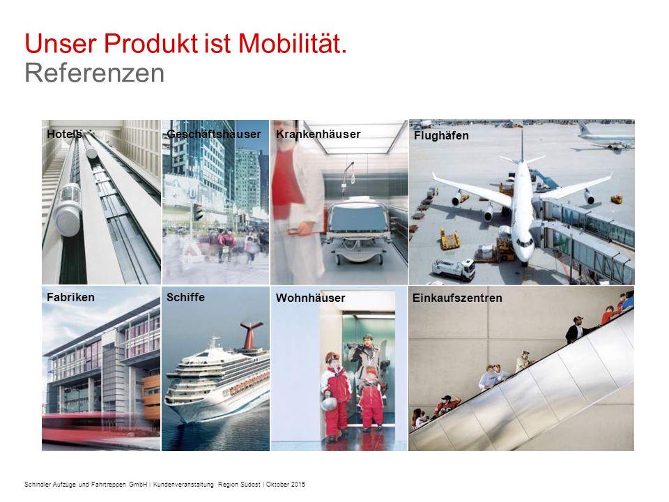 Unser Produkt ist Mobilität.