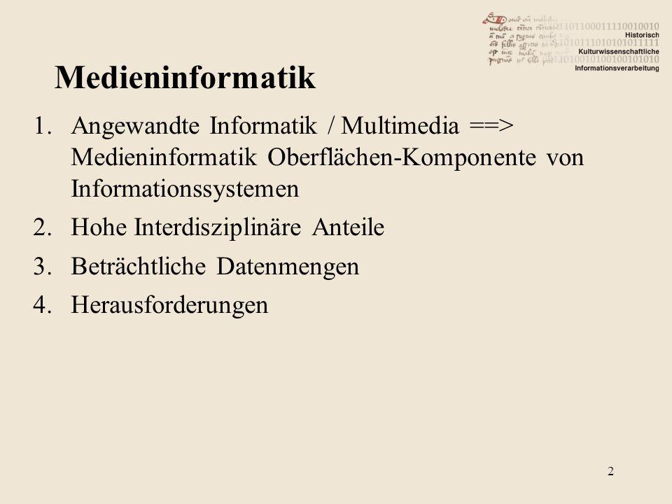 """""""Visuelle Magisterthemen z.B."""