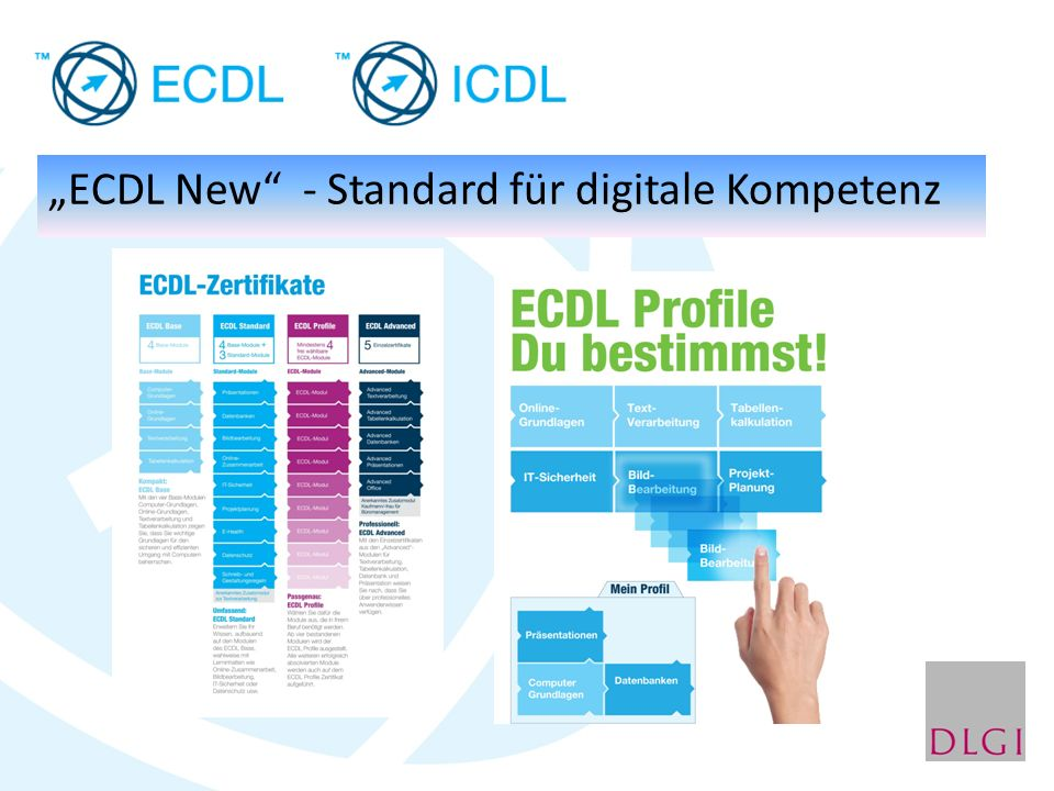 """""""ECDL New"""" - Standard für digitale Kompetenz"""