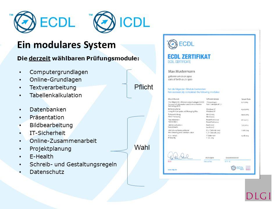"""Detaillierte Informationen über den """"E C D L/I C D L finden Sie unter: http://www.wirtschaftsschule.seligenthal.de/ linker Frame: ECDL oder unter http://www.ecdl.de (Dienstleistungsgesellschaft für Informatik, Bonn)"""