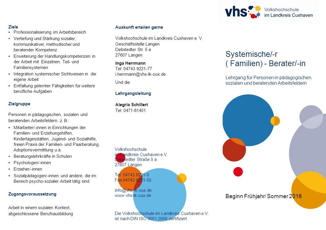 Volkshochschule im Landkreis Cuxhaven e.V.