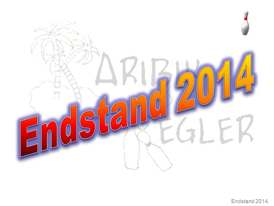Endstand 2014.Termine 2015  3. Januar  9. – 11.