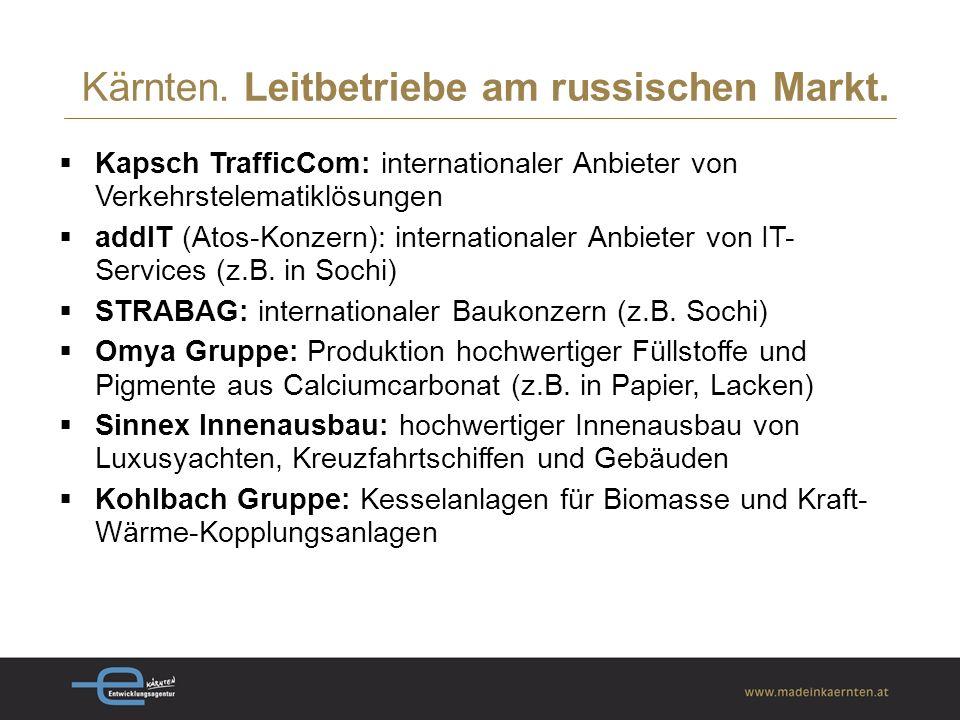  Kapsch TrafficCom: internationaler Anbieter von Verkehrstelematiklösungen  addIT (Atos-Konzern): internationaler Anbieter von IT- Services (z.B.