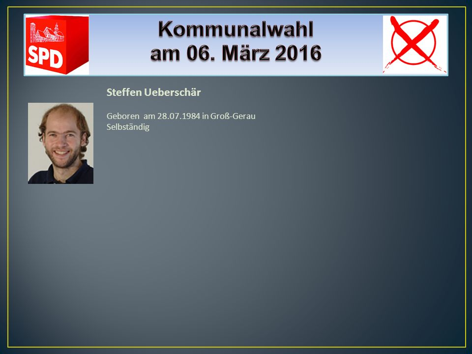 Hans Joachim Vorndran Geboren am 29.11.1972 in Groß-Gerau Rechtsanwalt