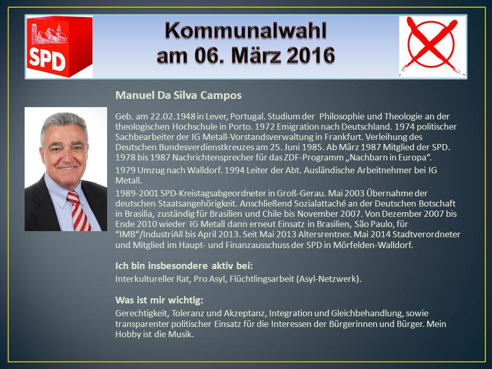 Roger Fischbach 1961 wurde ich in der Bahnhofstraße in Mörfelden geboren und von Kurt Oeser getauft, kurz danach bezogen wir im Ev.