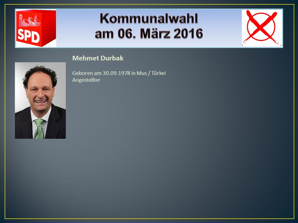 Renate Liestener Geboren am 31.07.1951 in Walldorf Rentnerin SPD-Mitglied seit 1985