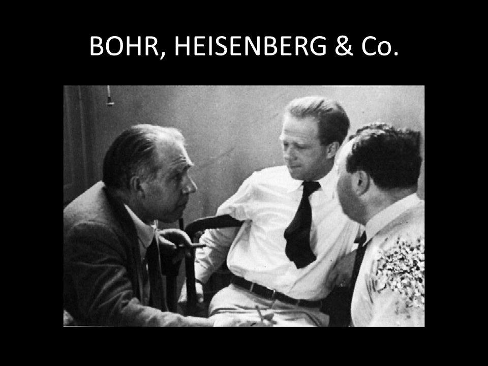 BOHR, HEISENBERG & Co.