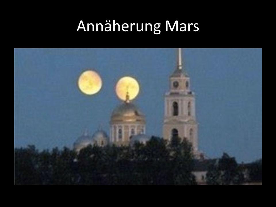 Annäherung Mars
