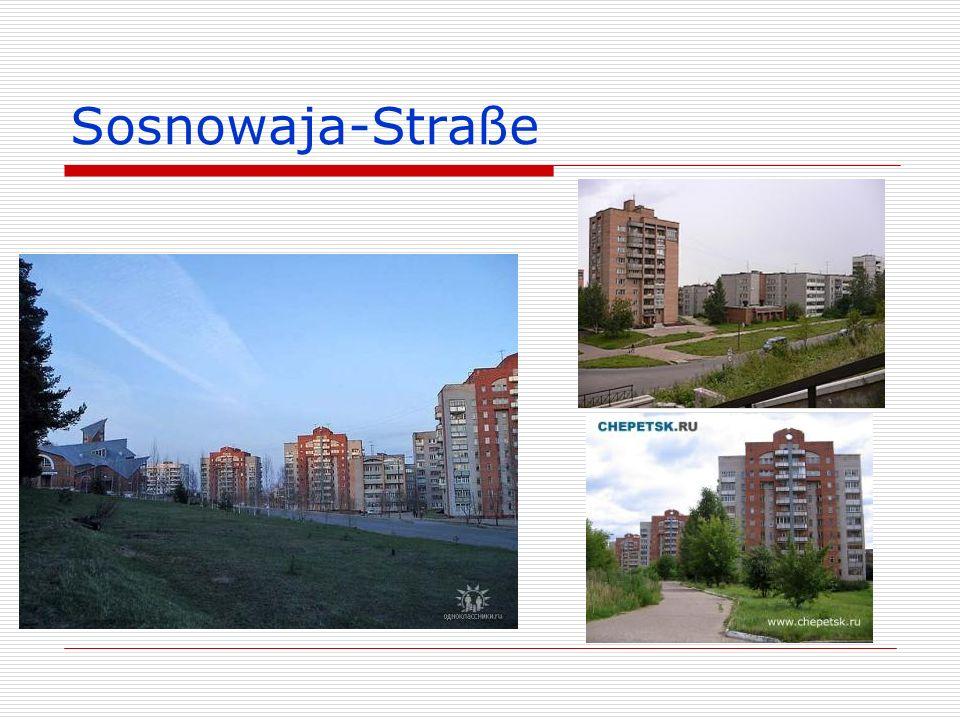 Sosnowaja-Straße