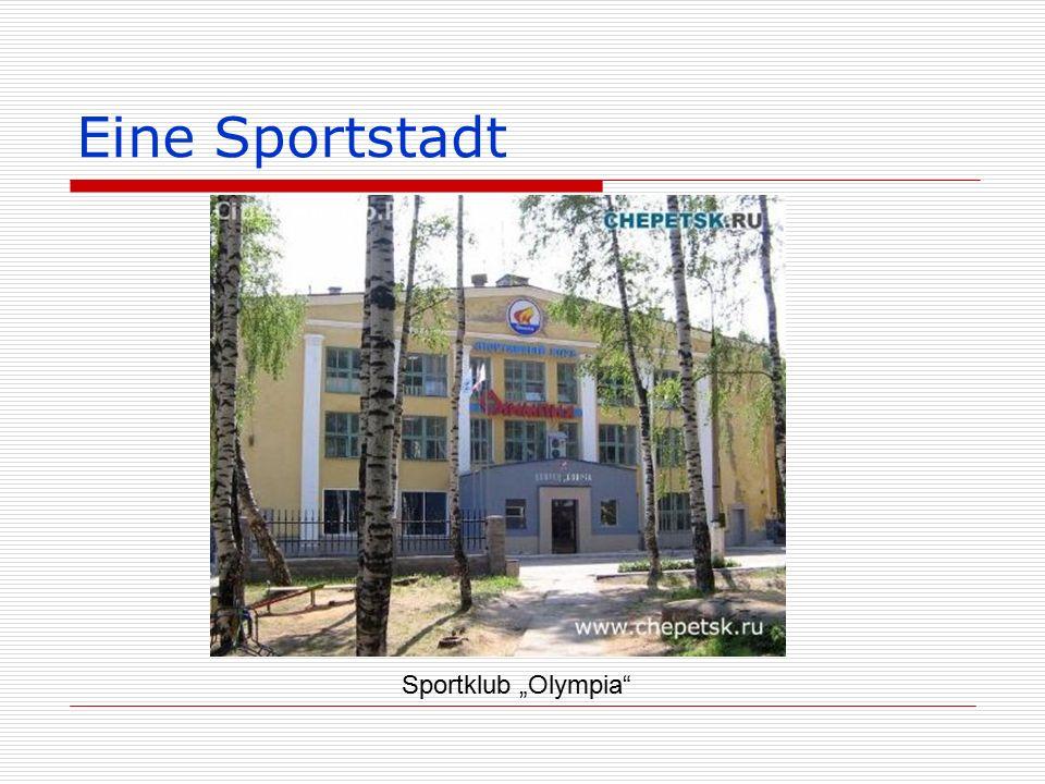 """Eine Sportstadt Sportklub """"Olympia"""