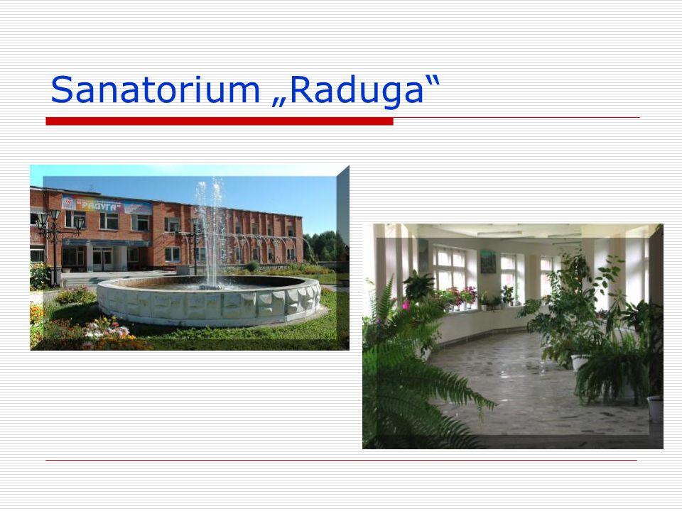 """Sanatorium """"Raduga"""