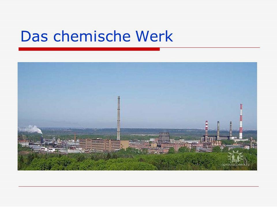 """Das Werk der mineralischen Düngemittel (""""Uralchim )"""