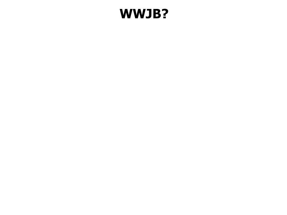 WWJB?