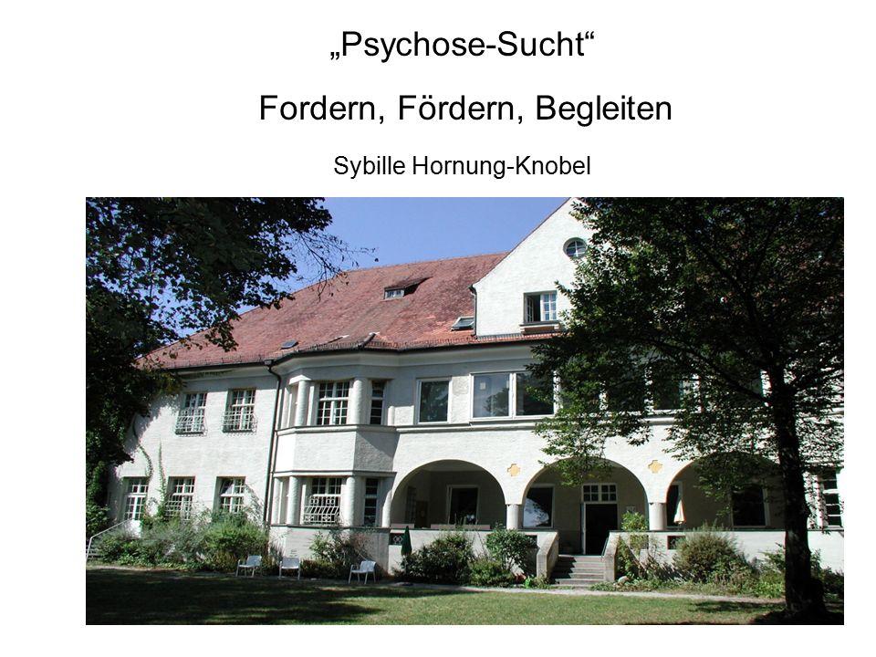 """""""Psychose-Sucht"""" Fordern, Fördern, Begleiten Sybille Hornung-Knobel"""