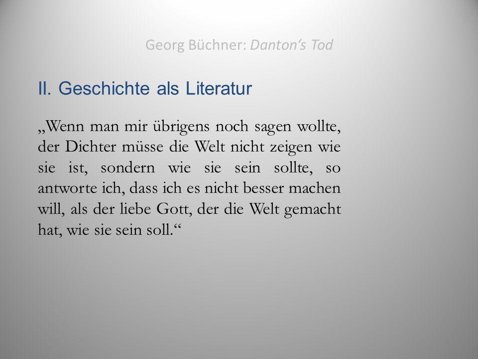Georg Büchner: Danton's Tod II.