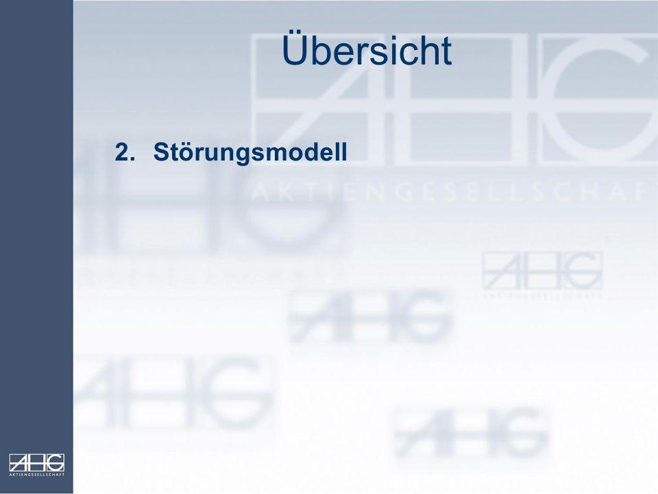 Übersicht 2.Störungsmodell