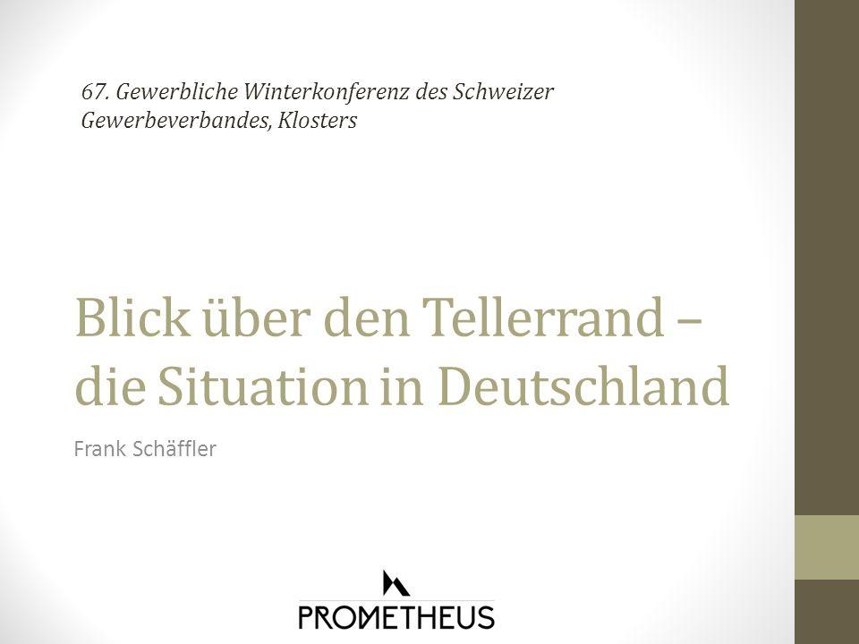 Blick über den Tellerrand – die Situation in Deutschland Frank Schäffler 67.