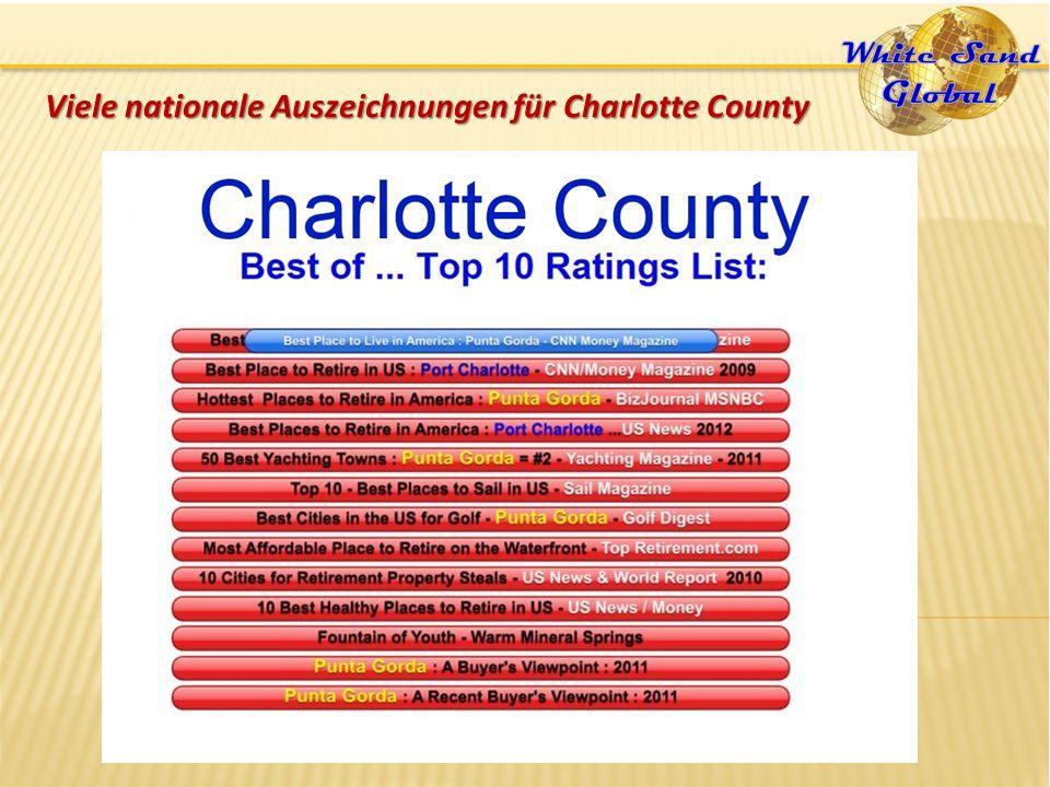 Viele nationale Auszeichnungen für Charlotte County