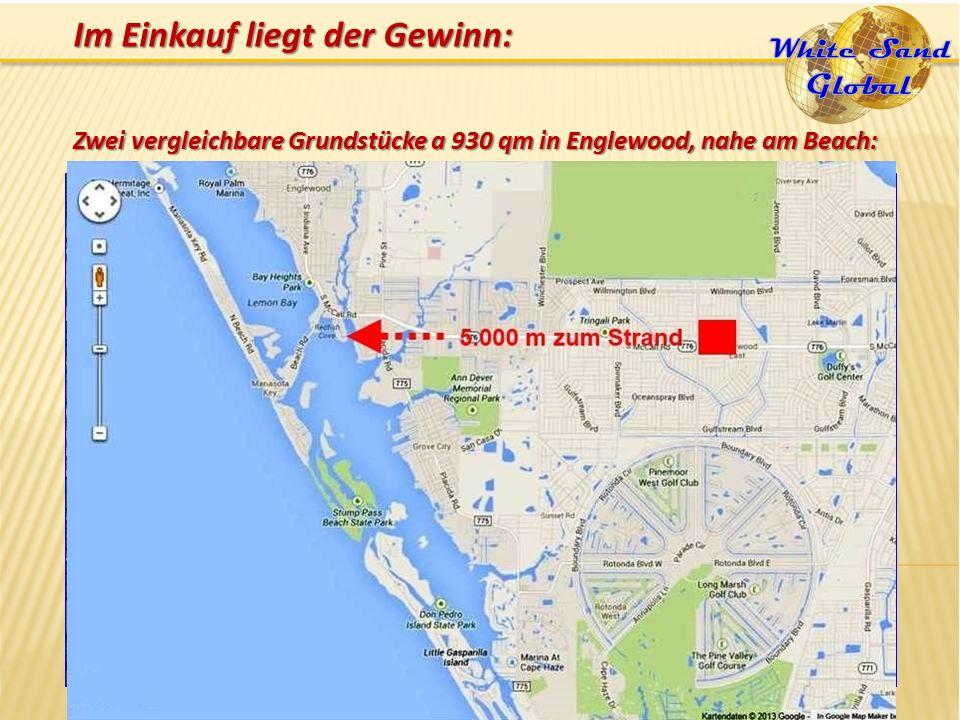 Zwei vergleichbare Grundstücke a 930 qm in Englewood, nahe am Beach: Im Einkauf liegt der Gewinn:
