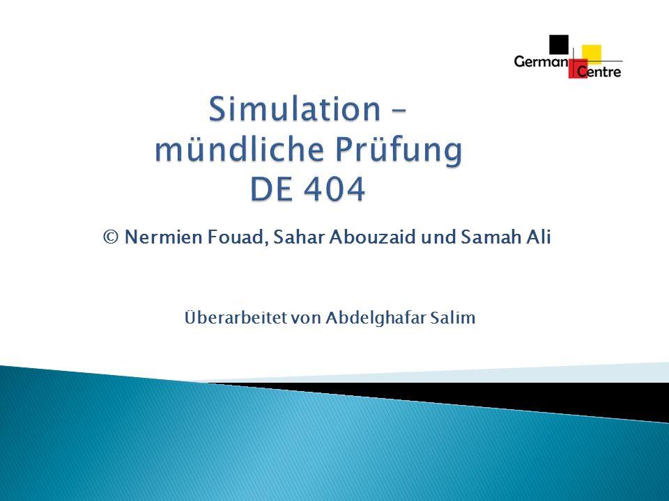 © Nermien Fouad, Sahar Abouzaid und Samah Ali Überarbeitet von Abdelghafar Salim