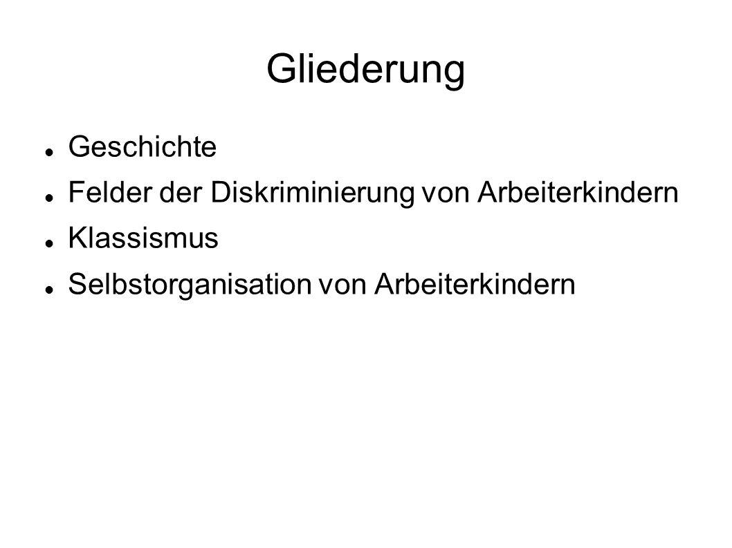 """Klassismus Soziale Herkunft ist kein offizieller Diskriminierungsgrund Während des Amsterdammer Vertrages 1998 wurde """"Soziale Herkunft aus dem Katalog geworfen, weil es keine Lobby gab Untersuchung der ADS zur """"Diskriminierungsfreien Hochschule hat trotzdem """"Soziale Herkunft aufgenommen"""