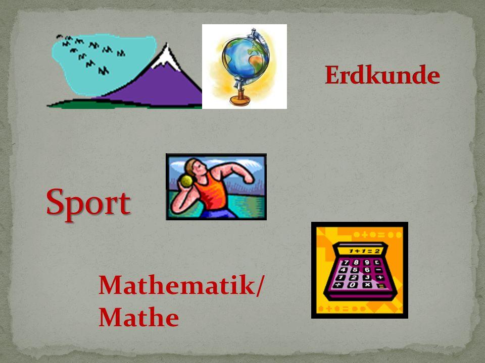 Sport Mathematik/ Mathe
