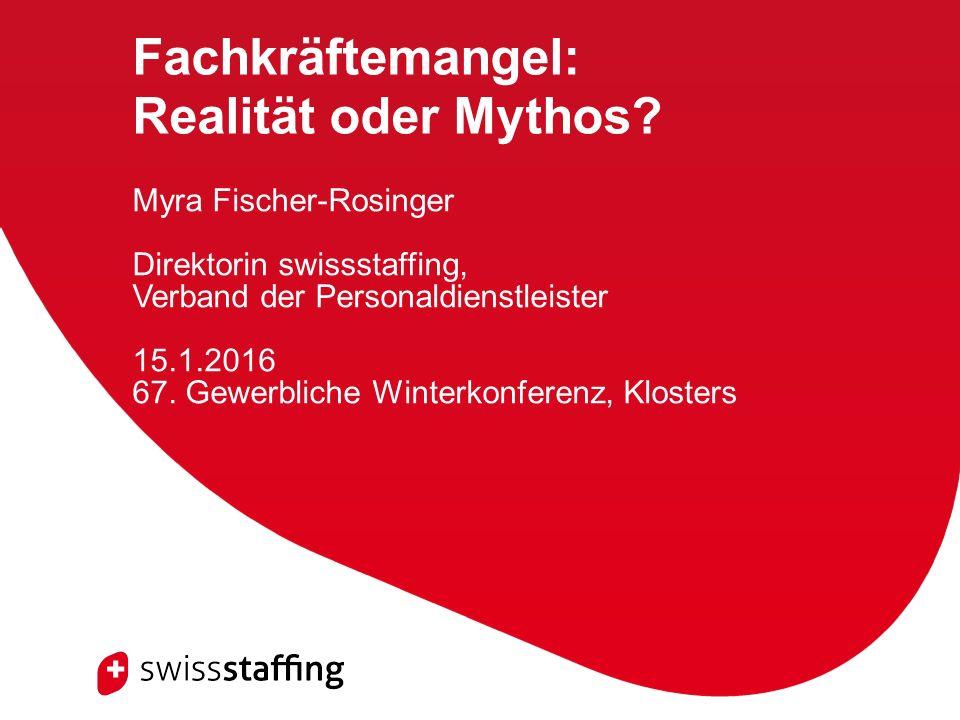Fachkräftemangel: Realität oder Mythos.
