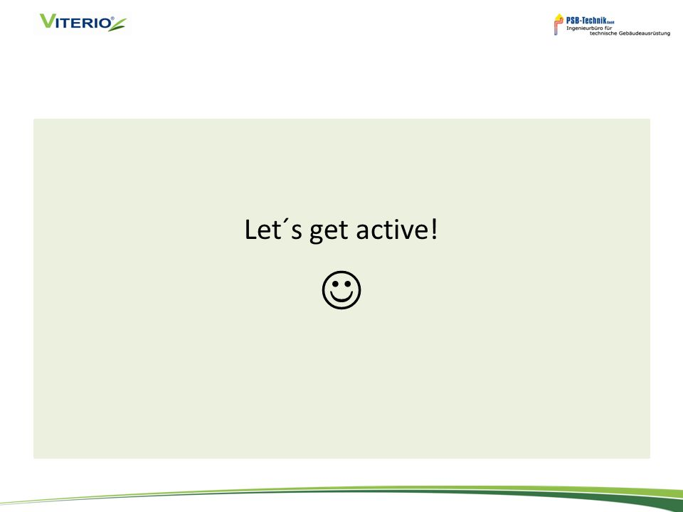 Let´s get active!