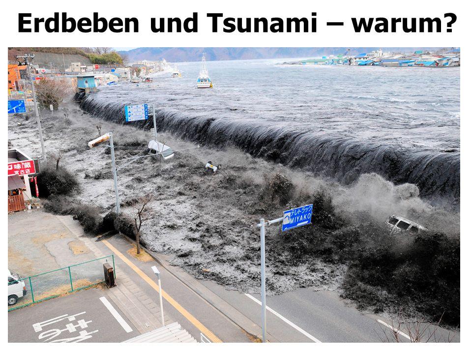 Erdbeben und Tsunami – warum?