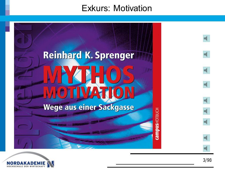 3/98 Exkurs: Motivation