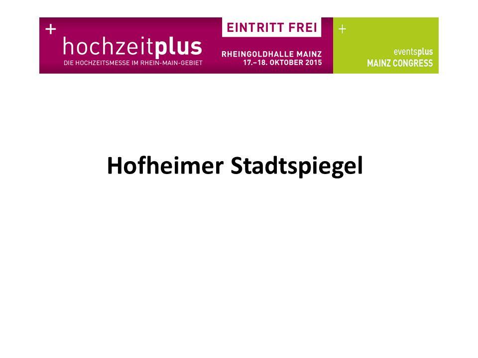 Hofheimer Stadtspiegel