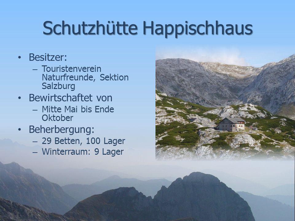 Wege zur Schutzhütte Vom Pass Lueg über das Niedertörl und Pietschenbergalm – Gehzeit: ca.