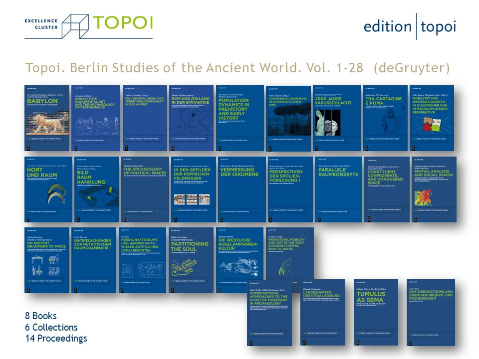 Topoi. Berlin Studies of the Ancient World. Vol.