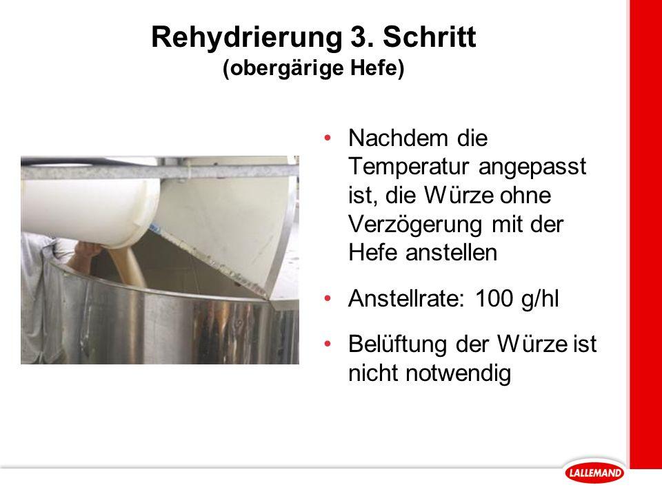 Rehydrierung 3.