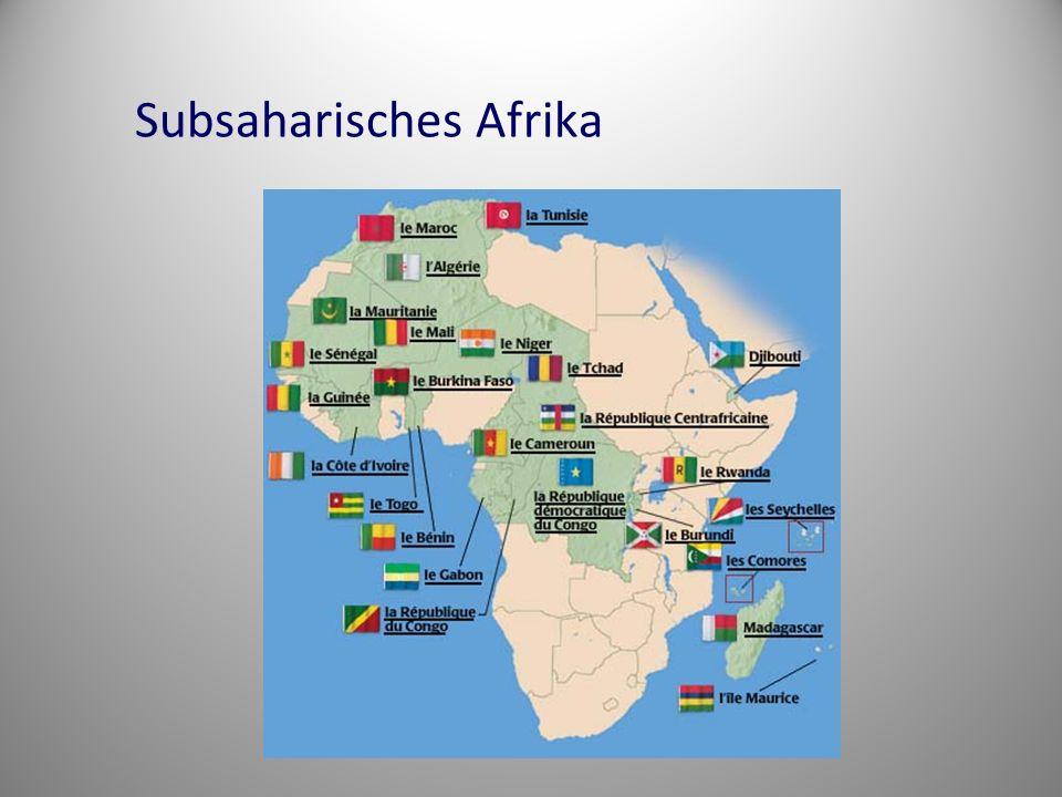 Subsaharisches Afrika